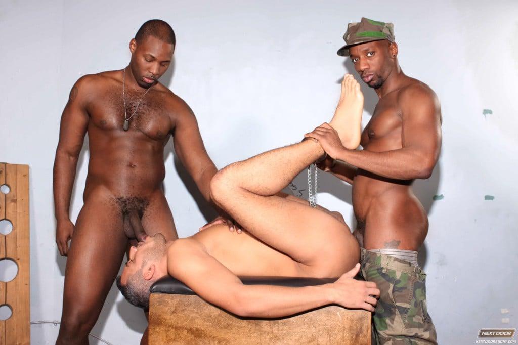 from Remington gay interraicial 3 way