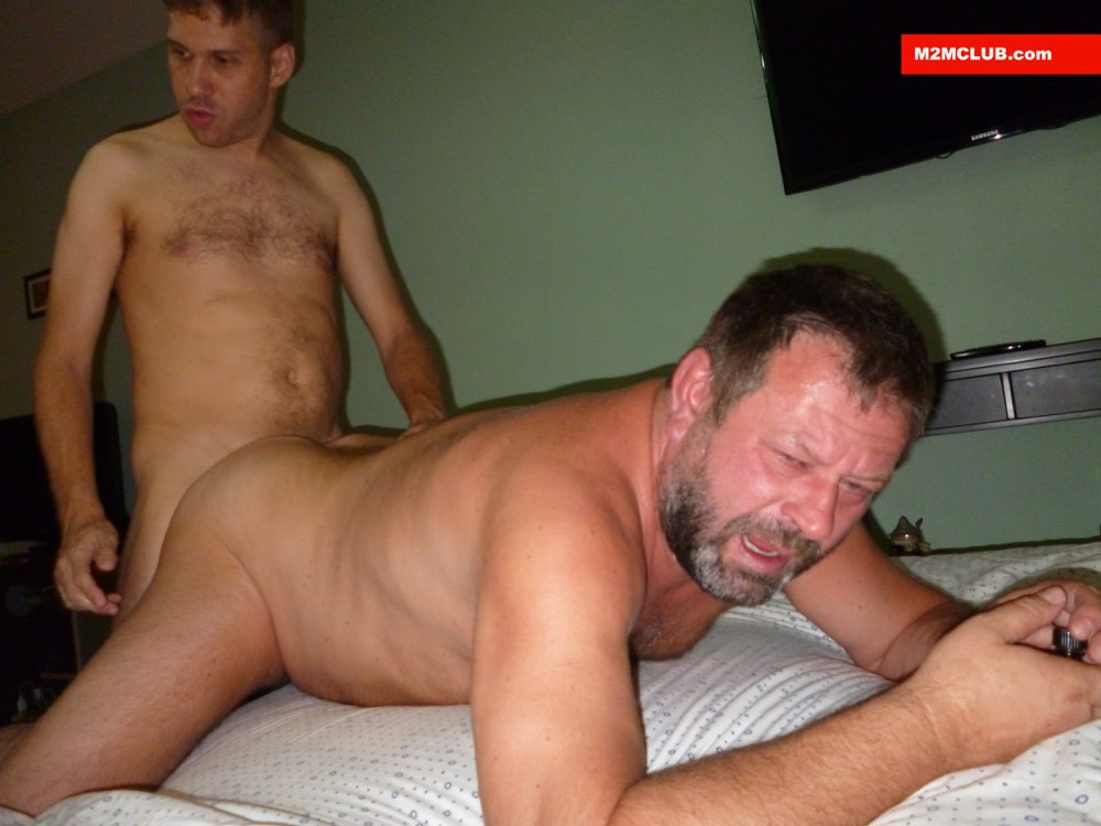 Steve Bear Gets Fucked At M2M Club - Gaydemon-9584
