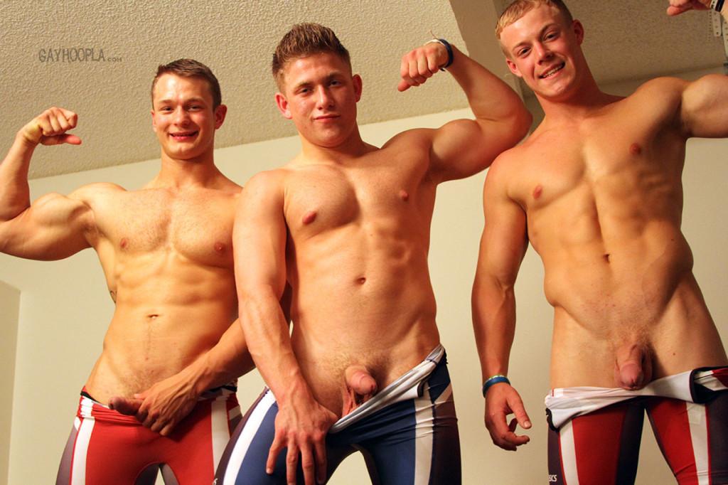 Gay wrestling singlet porn
