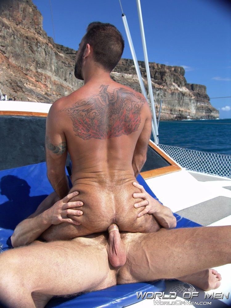 Naked Boys Fishing