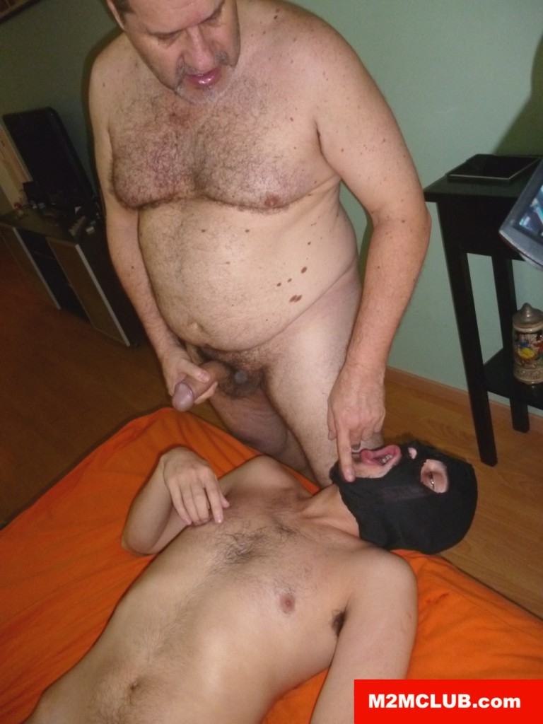 Mature Men Fucking A Horny Bottom At M2M Club - Gaydemon-9366