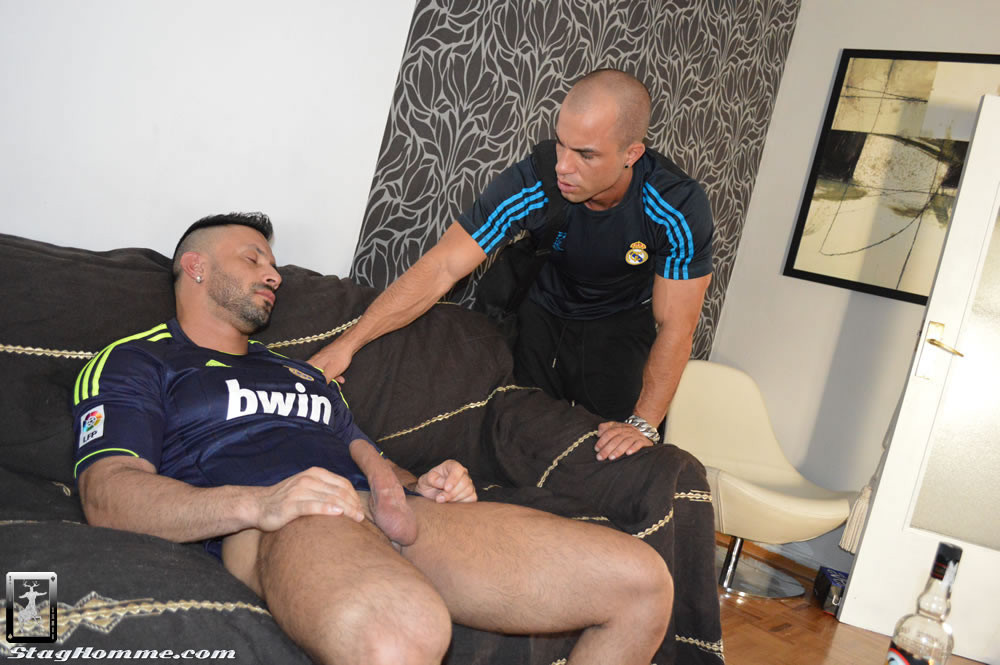 Antonio Aguilera And Flex At Stag Homme - Gaydemon-9610