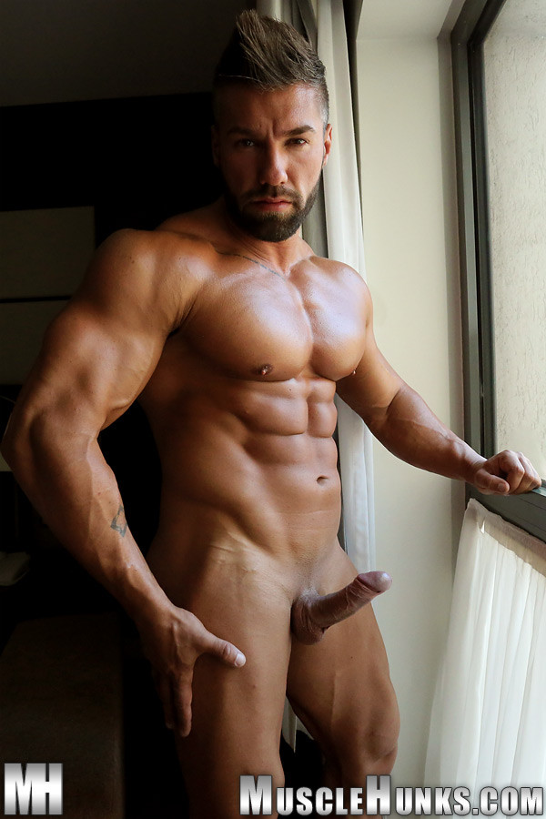 from Tony gay hunk man muscle