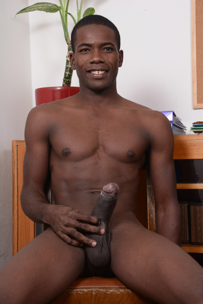African gay male uncut cock masturbation 9