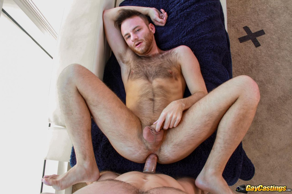 Gaycastings bearded brody fields fucked by casting agent