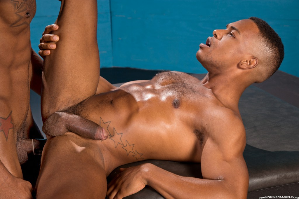 Black gay men with two woman porn