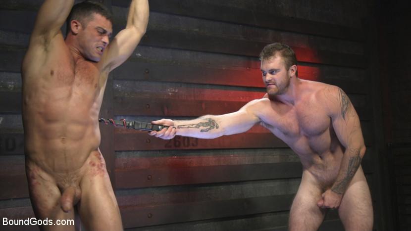 Scott Ambrose And Lance Hart At Bound Gods - Gaydemon-3771