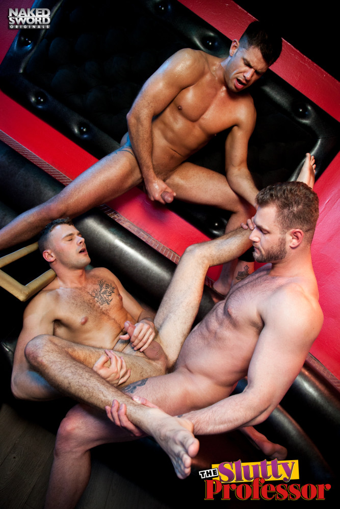 Handjob gay naked sword video