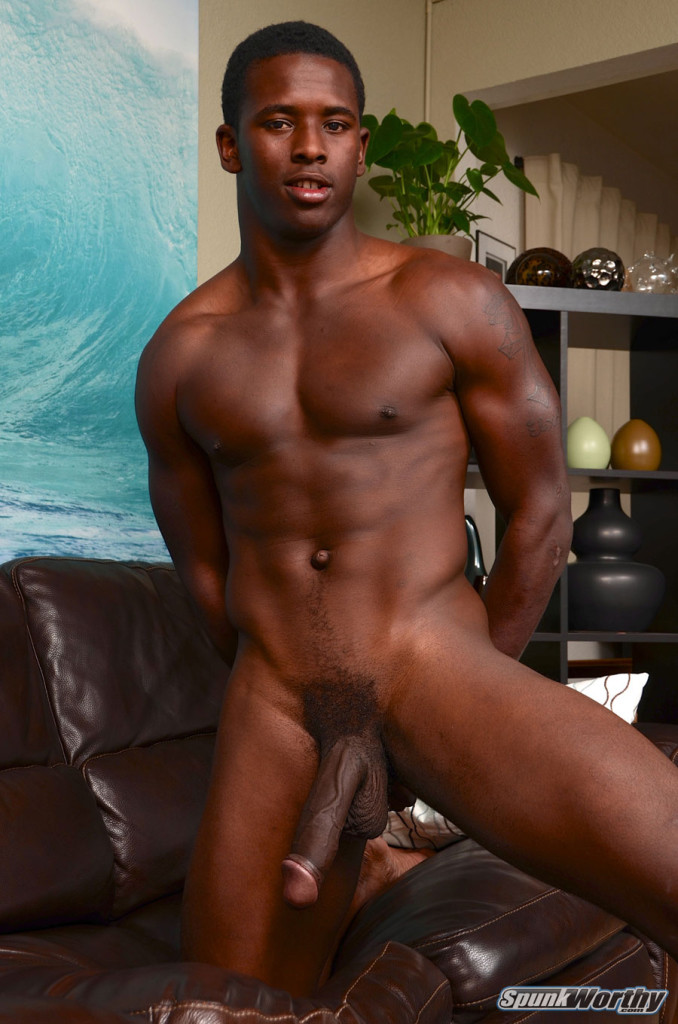 black naked gay male