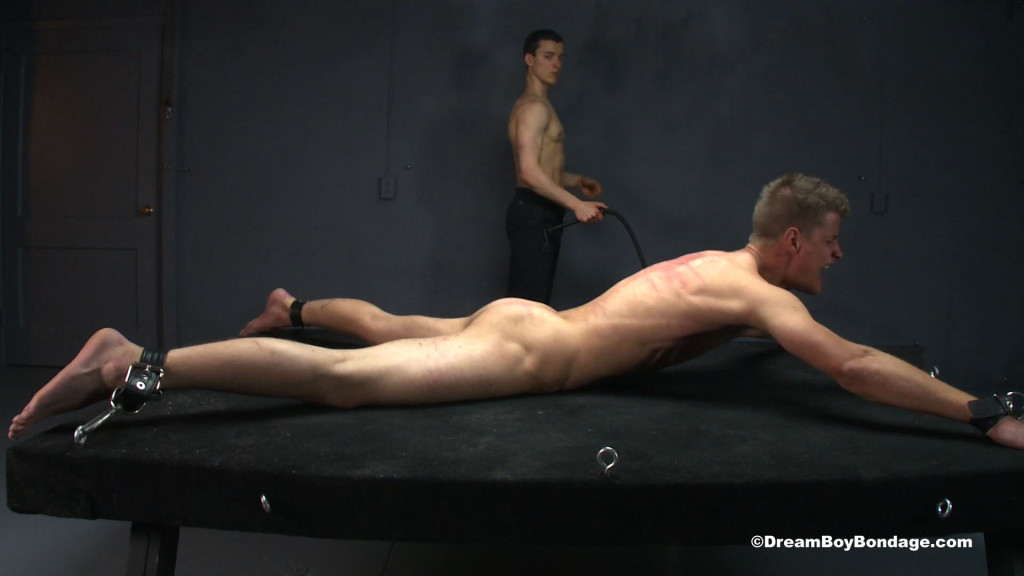 image Cock and ball torture triple zipper on his balls