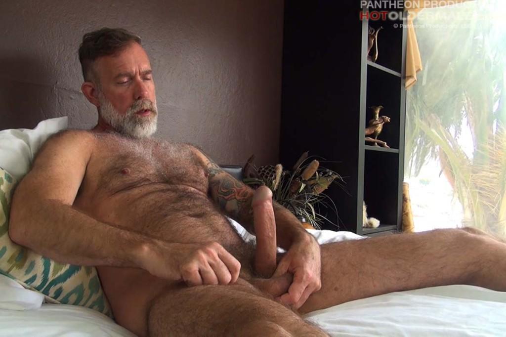 Gay male massage bondage skinny slave cums 2