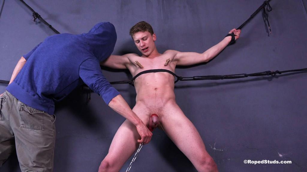 Bdsm fetish blonde sub darling makes out 7