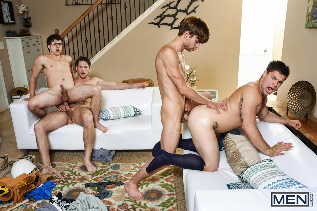 Gay Roman orgie