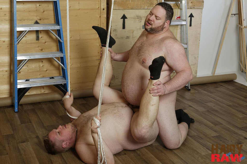 Bear Waters And Teddy Osborne At Hairy And Raw - Gaydemon-2893