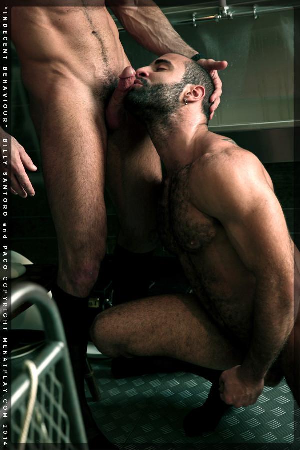 Billy Santoro et Paco A Men At Play - Gaydemon-5437