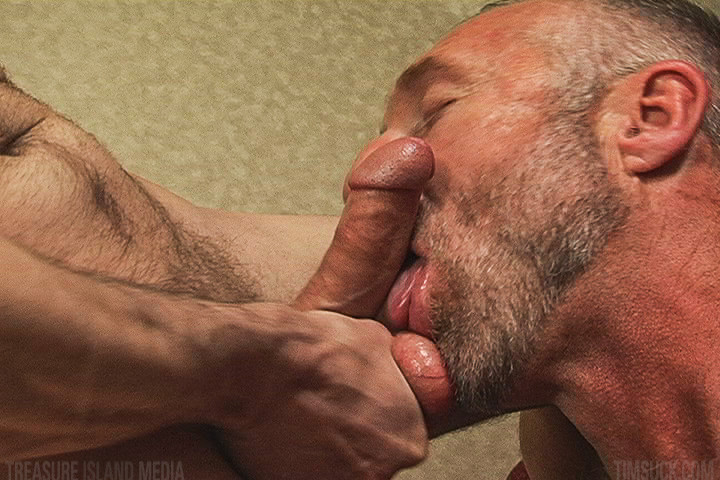 hungry grandpa takes a cum load gaydemon