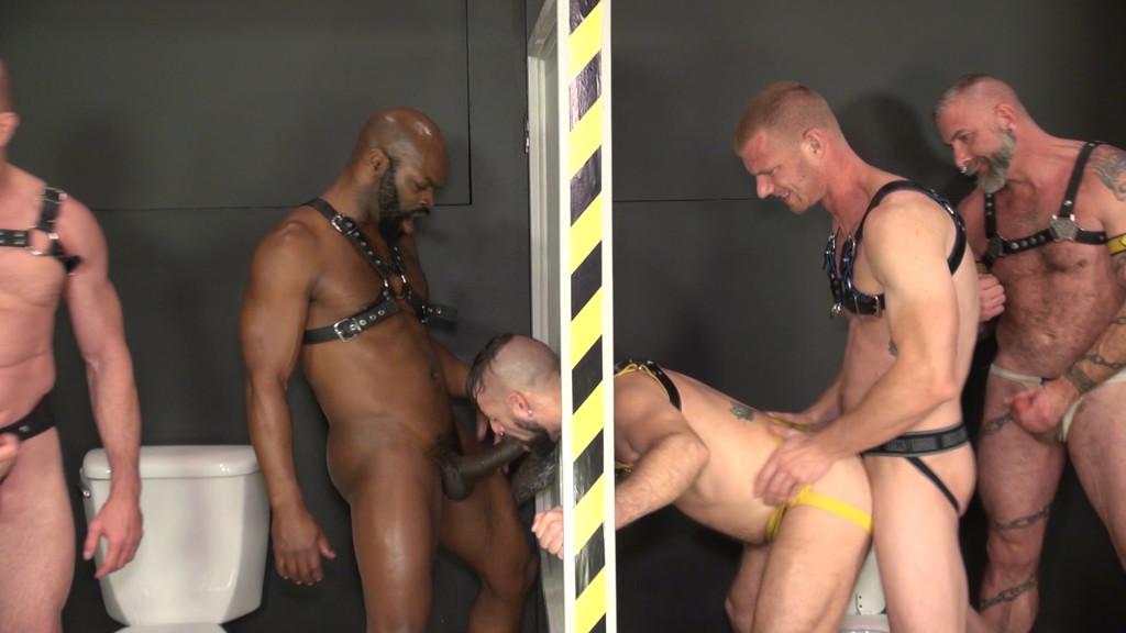 Gay piss glory hole