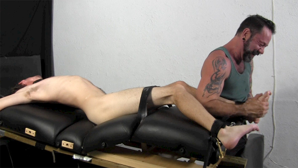 Guy Tied Up And Tickled
