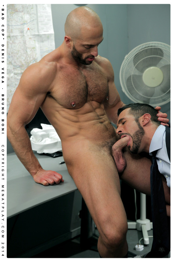 Bruno Boni  Debis Vega In Bad Cop - Gaydemon-1708