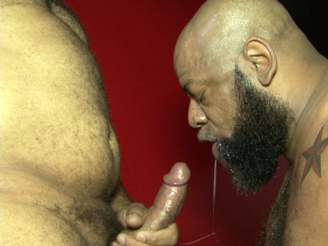 Leon Masters And Diesel Bear At Black Breeders - Gaydemon-5507