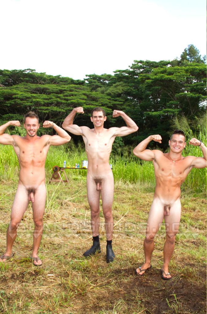Naked Rifle Range Jocks At Island Studs - Gaydemon-9097