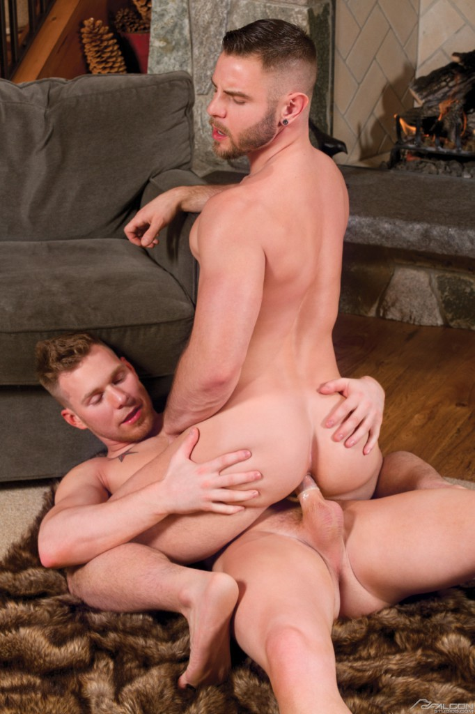 Euro dudes outdoor gay fuck and cum