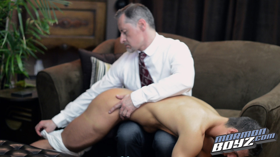 Mormon Boy Milled Gets Spanked By The Patriach - Gaydemon-2040
