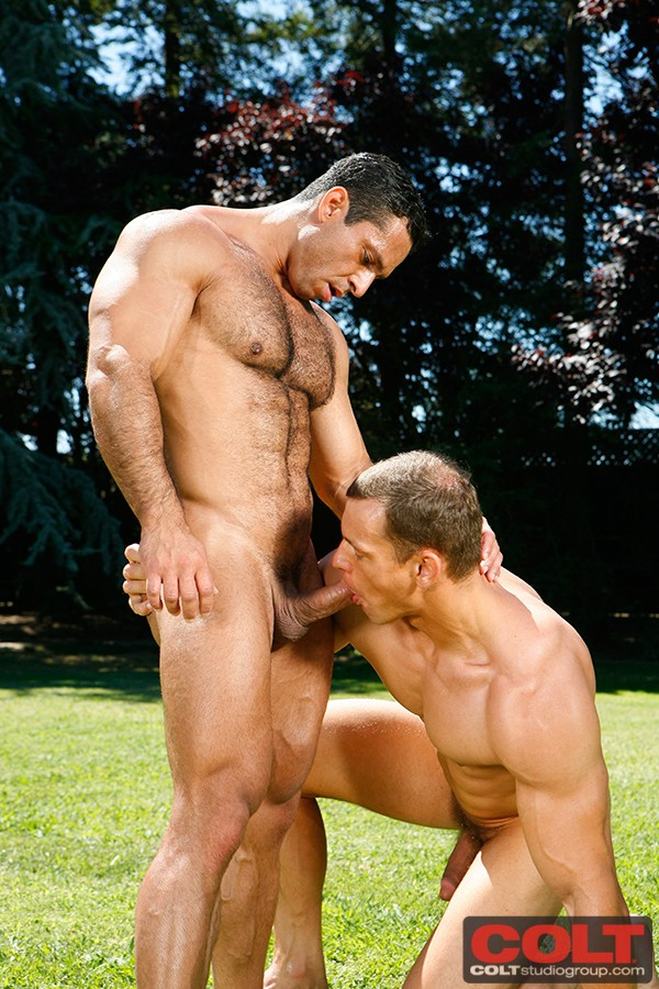 Chris Wide And Adam Champ At Colt - Gaydemon-8341