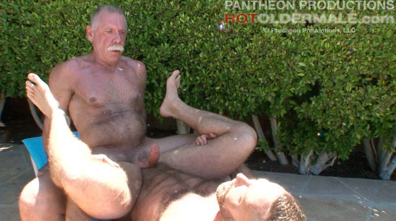 hairy gay Naked men old