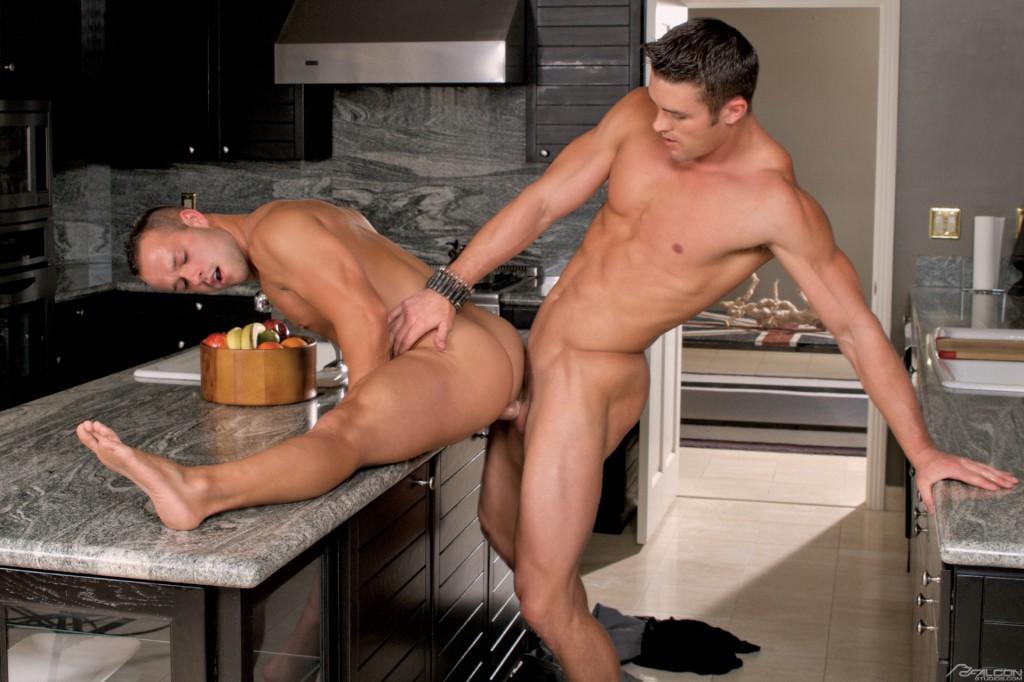 Luke Adams gay Porr