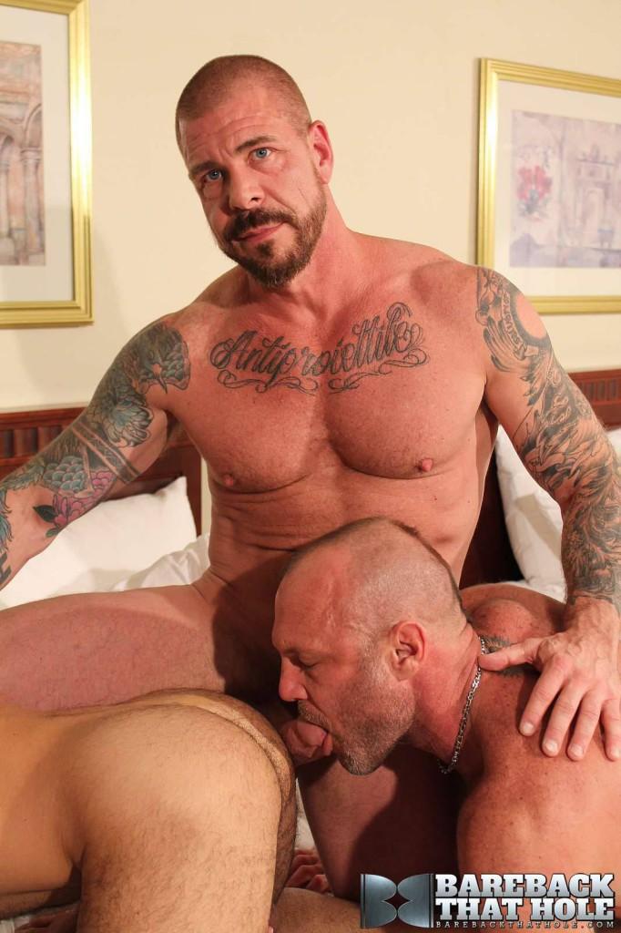 Rocco steele and adam russo bare