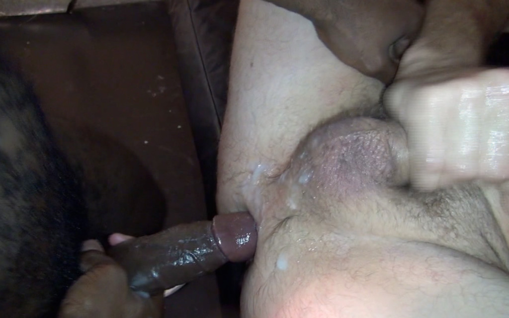 Raw fucking between two big dicked latin men