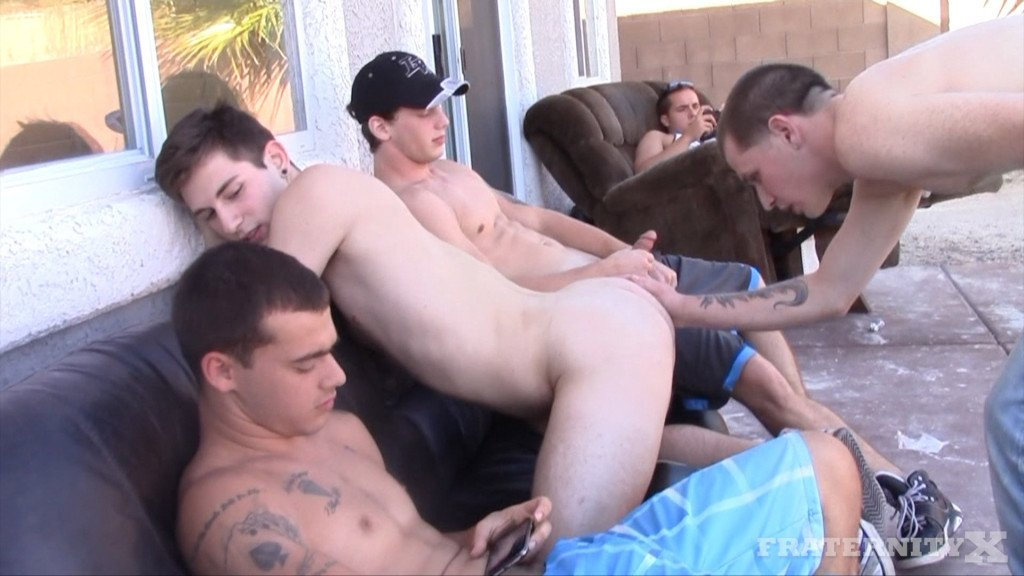 Ride It Bitch At Fraternity X - Gaydemon-2180