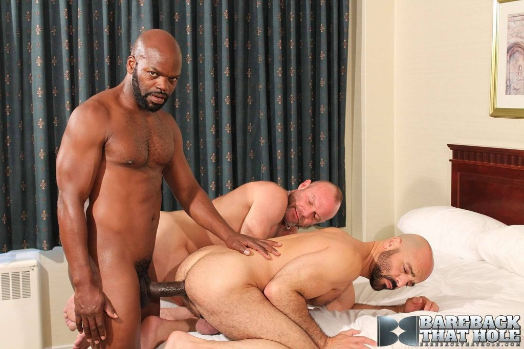 Cutler X, Adam Russo And Chad Brock At Bareback That Hole - Gaydemon-8778