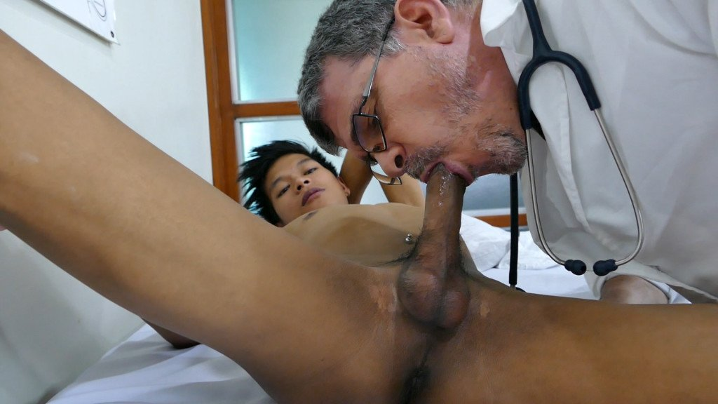 Clark Visits Doctor Daddy At Daddys Asians - Gaydemon-6698