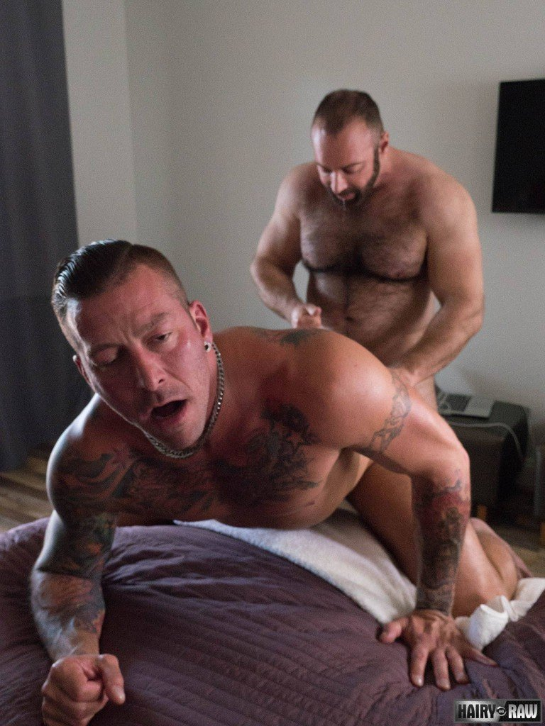 Brad Kalvo And Hugh Hunter At Hairy And Raw - Gaydemon-8723