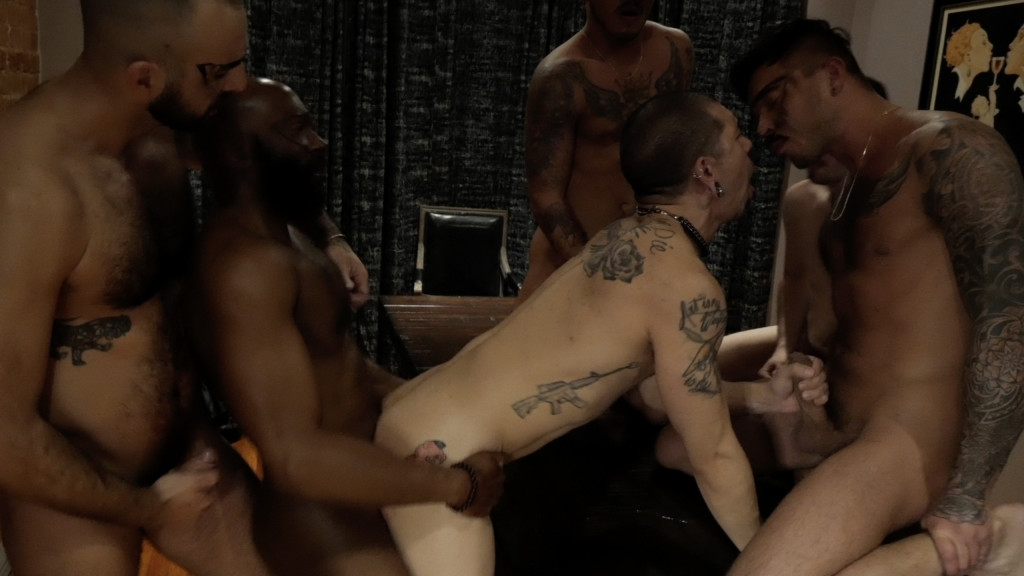 Party Orgy Action With Spanish Strippers