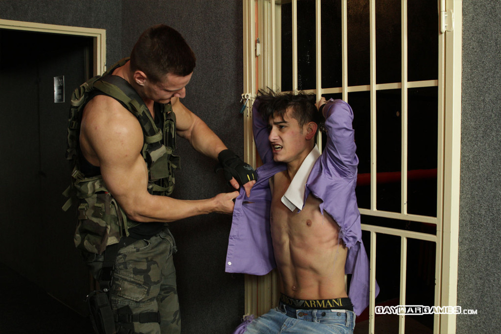 Sweet Prisoner Episode 01 At Gay War Games - Gaydemon-5821