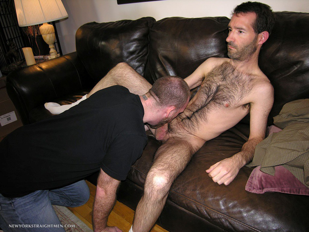 Hairy Stock Broker Gets A Blowjob - Gaydemon-8278