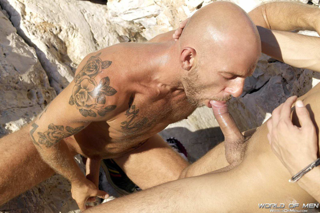 Men sex on beach
