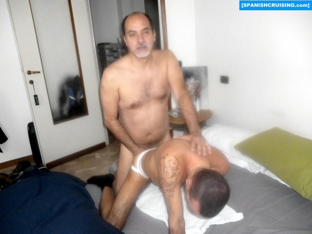 Italian Bottom Fucked By Older Man - Gaydemon-9857