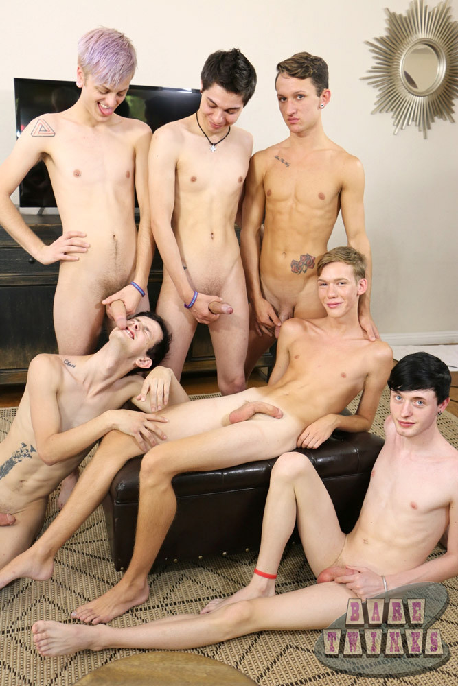 Gay Teen Orgie