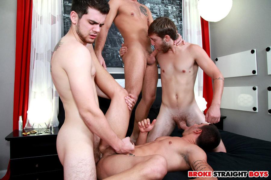 Four way straight boy