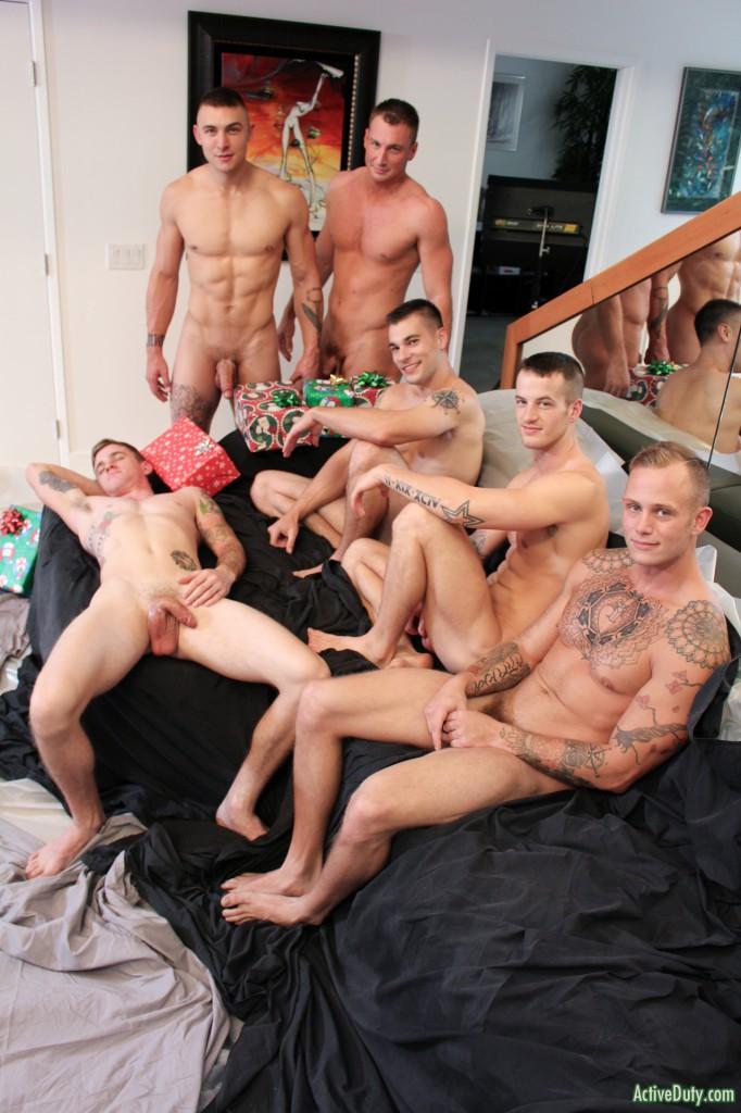 Active duty orgy
