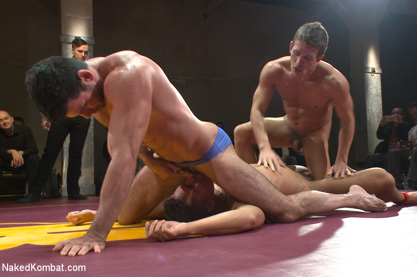 Naked wrestling gay demon