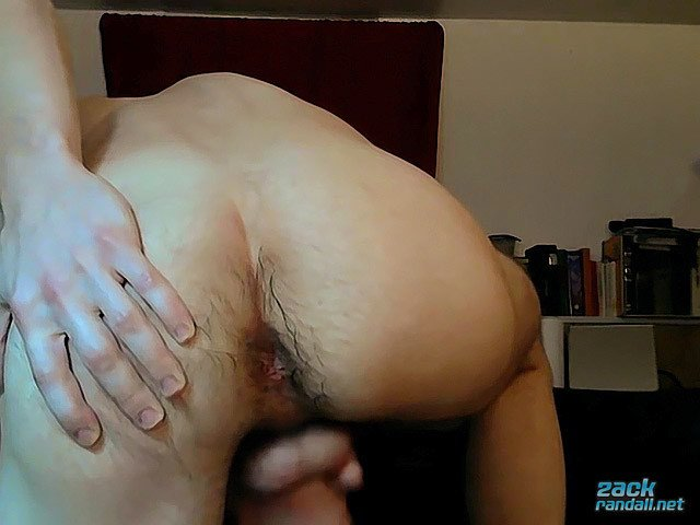 Licking His Cum From His Own Foreskin Zack Randall