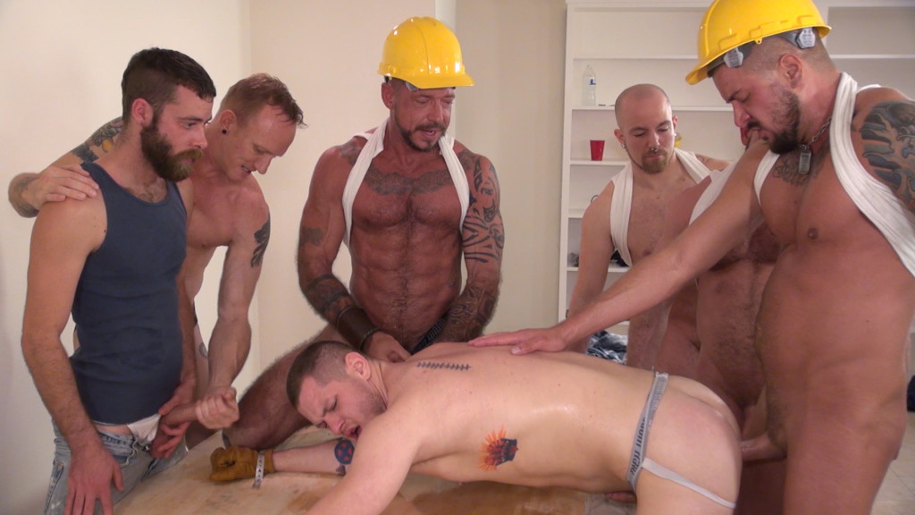 blue bailey gang banged on construction site gaydemon