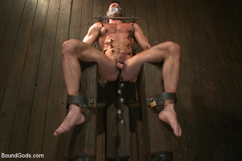 Men in pain bondage