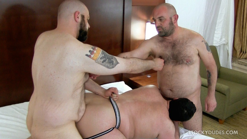 Daddy Bear Makes A Homemade Sex Tape - Gaydemon-4611