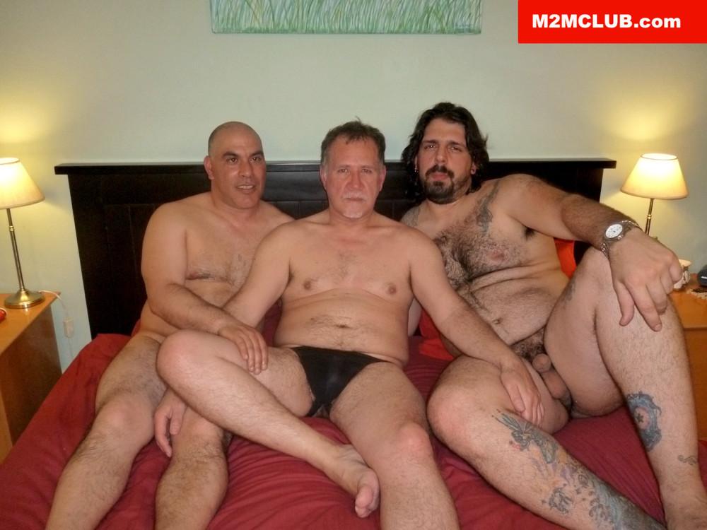 Bottom Guy Sleeping At M2M Club - Gaydemon-1063